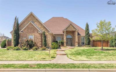 Wichita County Single Family Home For Sale: 10 Copper Kettle Court