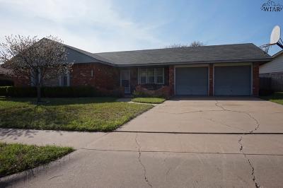 Wichita Falls Single Family Home For Sale: 4622 Monterrey Drive