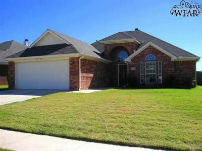 Wichita Falls Single Family Home For Sale: 5030 Cy Young Drive
