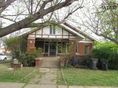 Wichita Falls TX Single Family Home For Sale: $79,000