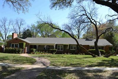 Wichita Falls TX Single Family Home Active W/Option Contract: $299,000