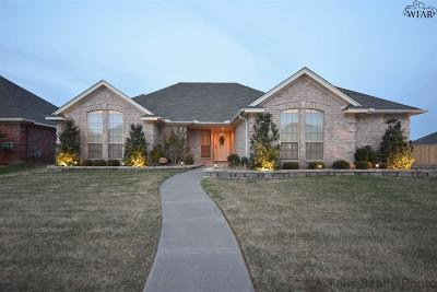 Wichita Falls Single Family Home Active W/Option Contract: 4925 Spring Hill Drive