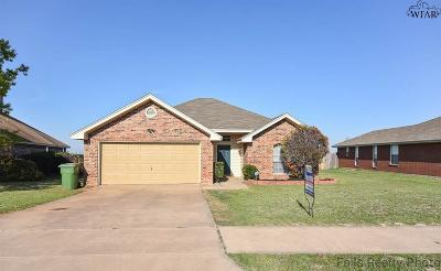 Wichita Falls Single Family Home Active W/Option Contract: 5224 Air Force Drive