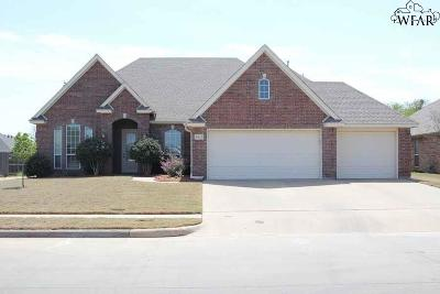Wichita Falls Single Family Home For Sale: 5429 Sun Stone Drive