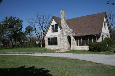 Wichita County Rental For Rent: 4800 Seymour Highway