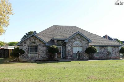 Wichita Falls Single Family Home For Sale: 510 Royal Road