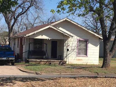 Wichita Falls Single Family Home For Sale: 1909 Kemp Boulevard