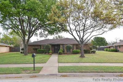 Wichita Falls Single Family Home Active W/Option Contract: 4815 Dickens Street