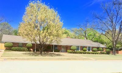 Wichita Falls Single Family Home For Sale: 2404 Brentwood Drive
