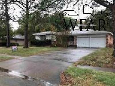 Wichita Falls Single Family Home For Sale: 2402 Lansing Boulevard