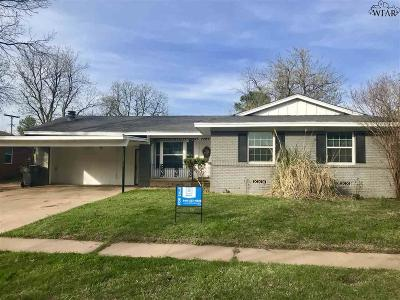 Wichita Falls Single Family Home For Sale: 4655 Woodlawn Drive