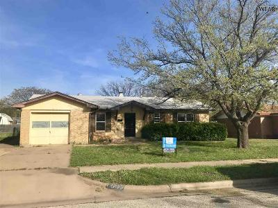 Wichita Falls Single Family Home For Sale: 4609 Tammy Drive