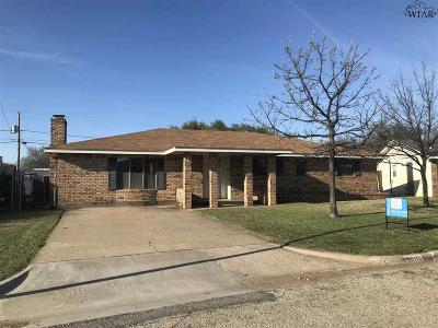 Wichita County Single Family Home For Sale: 4606 Belmount Drive