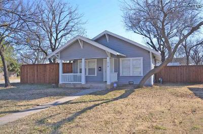 Henrietta Single Family Home For Sale: 515 E Ikard Street