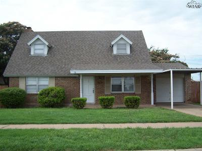 Wichita Falls Single Family Home For Sale: 1810 Central Freeway