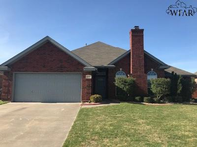 Wichita Falls Single Family Home Active W/Option Contract: 5010 L B Drive