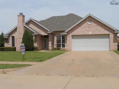 Wichita Falls Single Family Home For Sale: 4126 Candlewood Circle