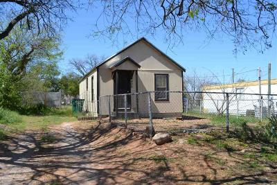 Burkburnett Single Family Home For Sale: 409 E 7th Street