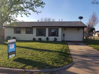 Wichita Falls TX Single Family Home For Sale: $63,000