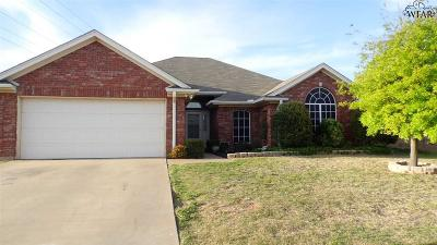 Wichita Falls Single Family Home For Sale: 6026 Natchez Trace