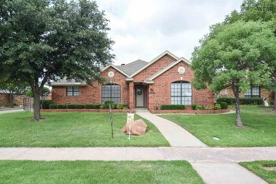 Wichita Falls Single Family Home For Sale: 4606 Willow Bend Drive