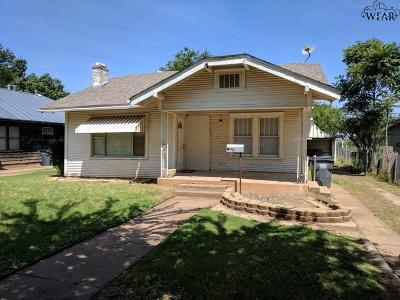 Wichita Falls Single Family Home For Sale: 2312 Kings Highway