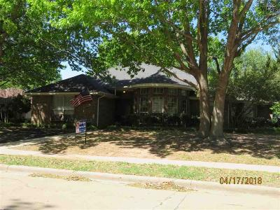Wichita Falls Single Family Home Active W/Option Contract: 4824 Royal Oak Street