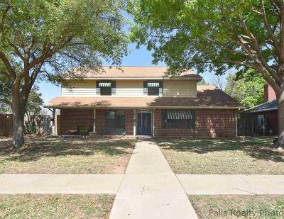 Wichita Falls Single Family Home For Sale: 1510 Grant Street