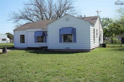 Wichita Falls TX Single Family Home For Sale: $69,000