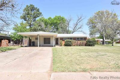 Wichita Falls Single Family Home For Sale: 4416 McCrory Avenue