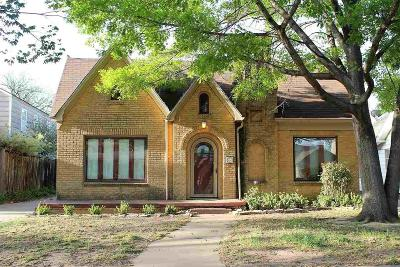 Wichita Falls Single Family Home For Sale: 1817 Victory Avenue