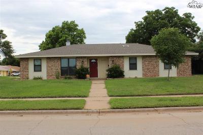 Wichita Falls Single Family Home For Sale: 2604 Lansing Boulevard