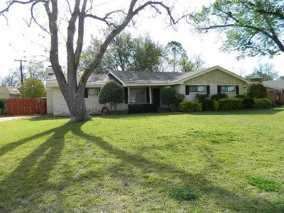 Wichita Falls TX Single Family Home Active-Contingency: $155,000