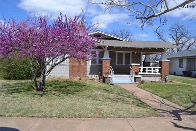 Wichita Falls Single Family Home For Sale: 1904 Pearl Avenue