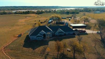 Burkburnett Single Family Home For Sale: 2479 Ashton Road