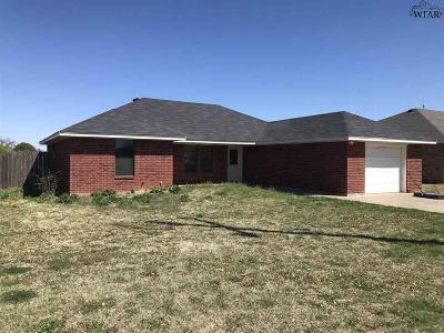Archer City Single Family Home For Sale: 419 W Cottonwood Street