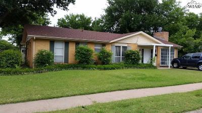 Wichita Falls Single Family Home For Sale: 5101 Kingston Drive