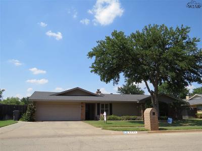 Wichita Falls Single Family Home For Sale: 2702 Elmwood Avenue