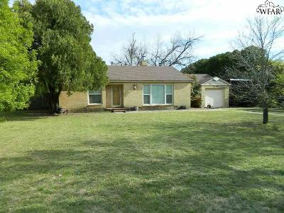 Wichita Falls TX Single Family Home Active W/Option Contract: $114,900