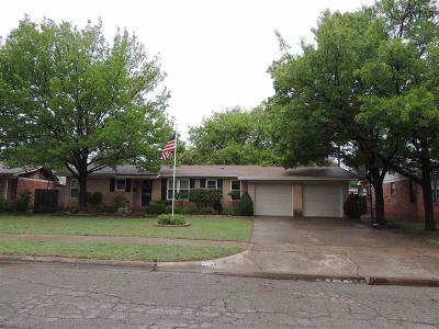 Wichita Falls Single Family Home For Sale: 4504 McCrory Avenue