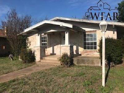 Wichita Falls Single Family Home For Sale: 1708 Beverly Drive