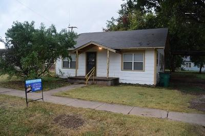 Single Family Home For Sale: 406 N Wall Street
