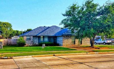 Wichita County Single Family Home For Sale: 5213 Langford Lane