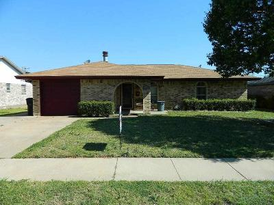 Wichita Falls Single Family Home Active W/Option Contract: 5130 Tower Drive