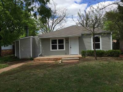 Wichita Falls Single Family Home For Sale: 2936 Lavell Avenue