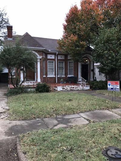 Wichita County Multi Family Home For Sale: 1707 Pearl Avenue