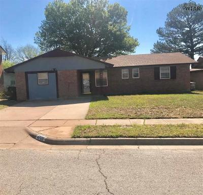 Wichita Falls Single Family Home For Sale: 4709 Gay Street