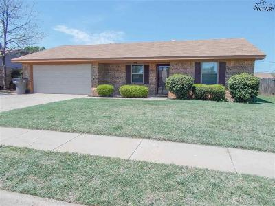 Wichita Falls Single Family Home For Sale: 4312 Greenridge