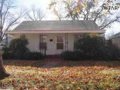 Wichita Falls Single Family Home For Sale: 1503 Victory Avenue