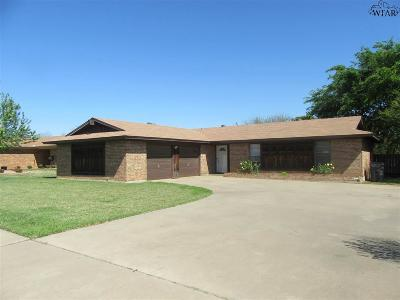 Wichita Falls Single Family Home For Sale: 2306 Rockhill Road